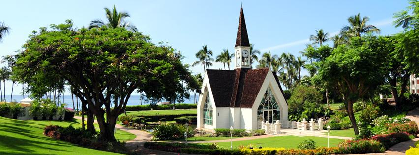 Wailea Seaside Chapel Wedding
