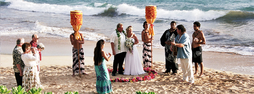 Traditional Hawaiian Wedding Maui