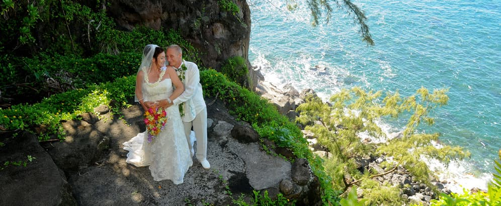Maui weddings maui weddings and honeymoon packages hawaiian maui hawaii wedding packages junglespirit Images