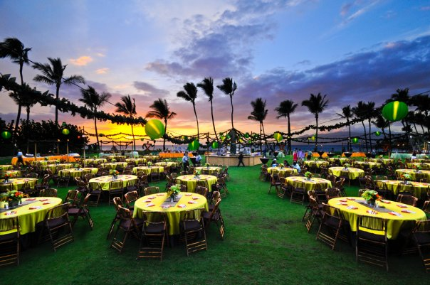 Hawaiian Island Weddings Maui Wedding Reception