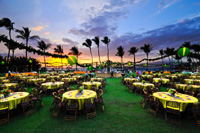 Catered receptions on Maui