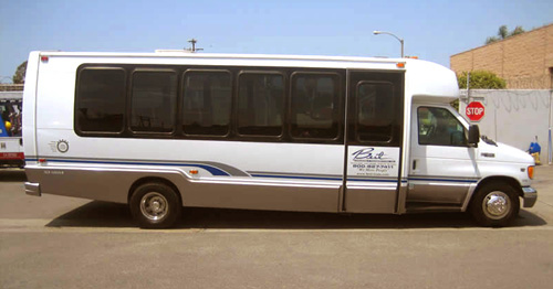 25 Passenger Air Conditioned Mini Bus