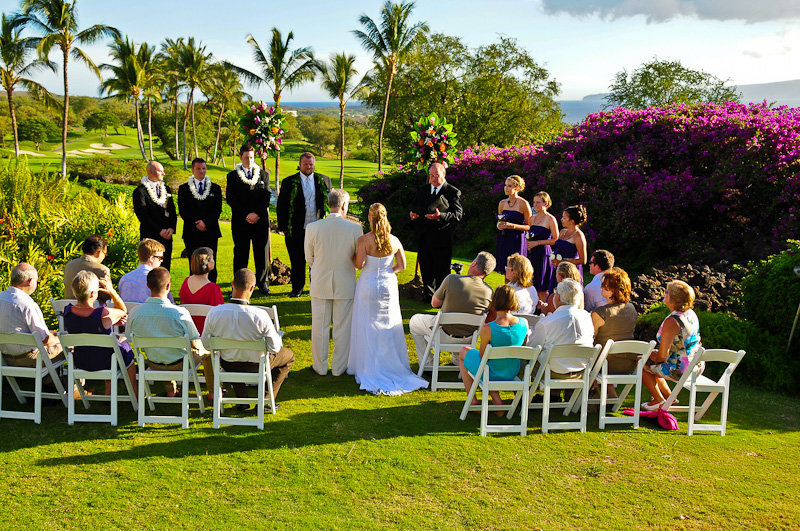 Gannon´s Oceanview Lawn Wedding