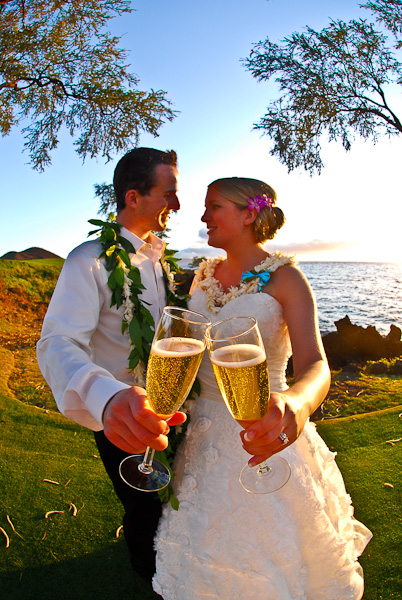 Makena Oceanfront Lawn Wedding