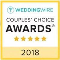 WeddingWire Brides Choice Award 2018