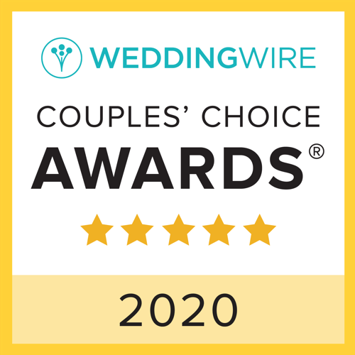 WeddingWire Brides Choice Award 2020