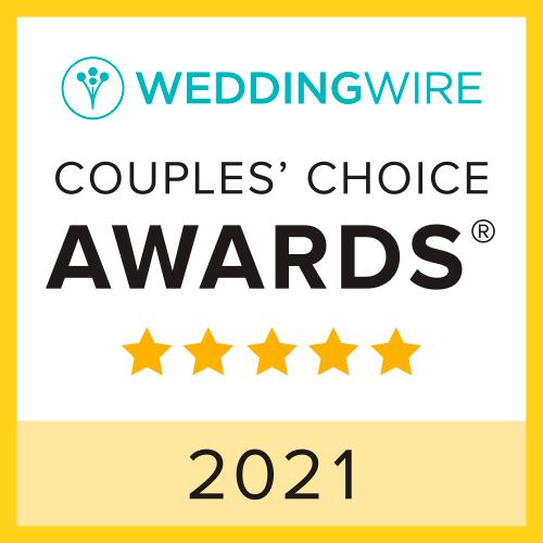 WeddingWire Brides Choice Award 2021