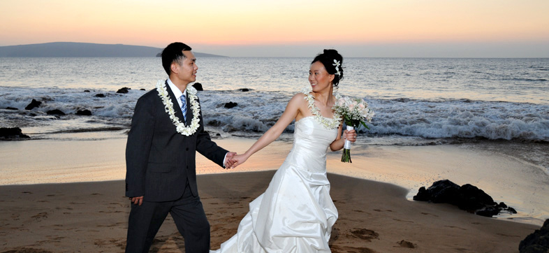 Oahu Glass Chapel Wedding