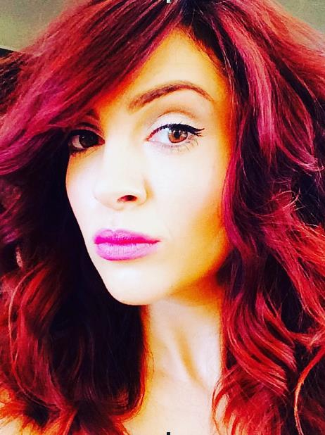 Maroon Hair Dye For Dark Hair Also Picture Of Hair Color Specialist ...