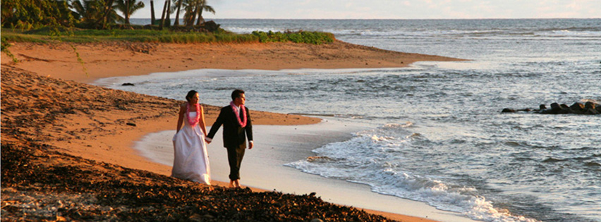 Kauai Beach and Garden Wedding