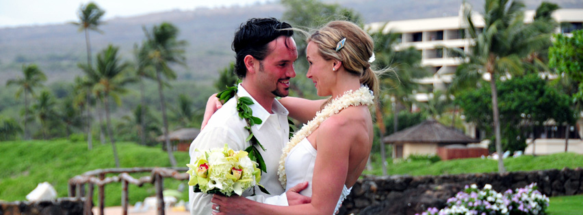 Makena Waterfall Wedding