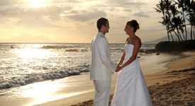 Molokini Sunset Wedding