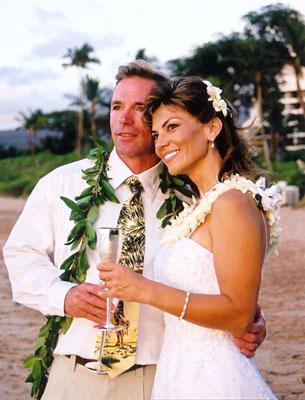 Hawaiian Wedding Renewal Dress