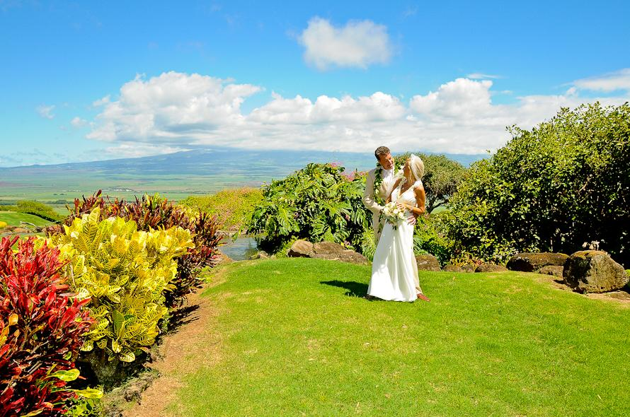 THE HOAPILI GARDENS AT THE KING KAMEHAMEHA GOLF COURSE