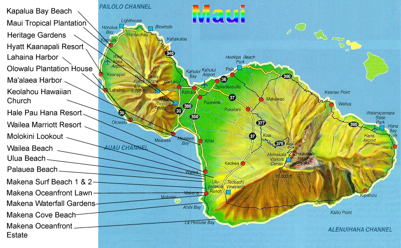 South Maui Locations