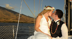 Sunset Sail Wedding