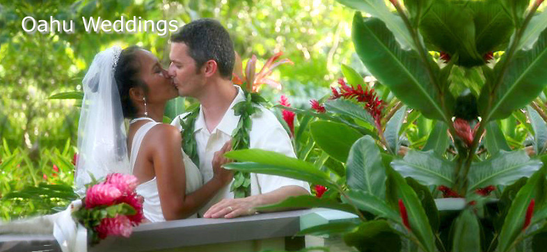 Oahu Weddings - Waimea Falls Wedding