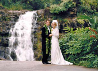 Waimea Falls Wedding